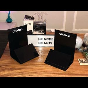 RARE CHANEL VANITY TOP ACCESSORY DISPLAY STAND